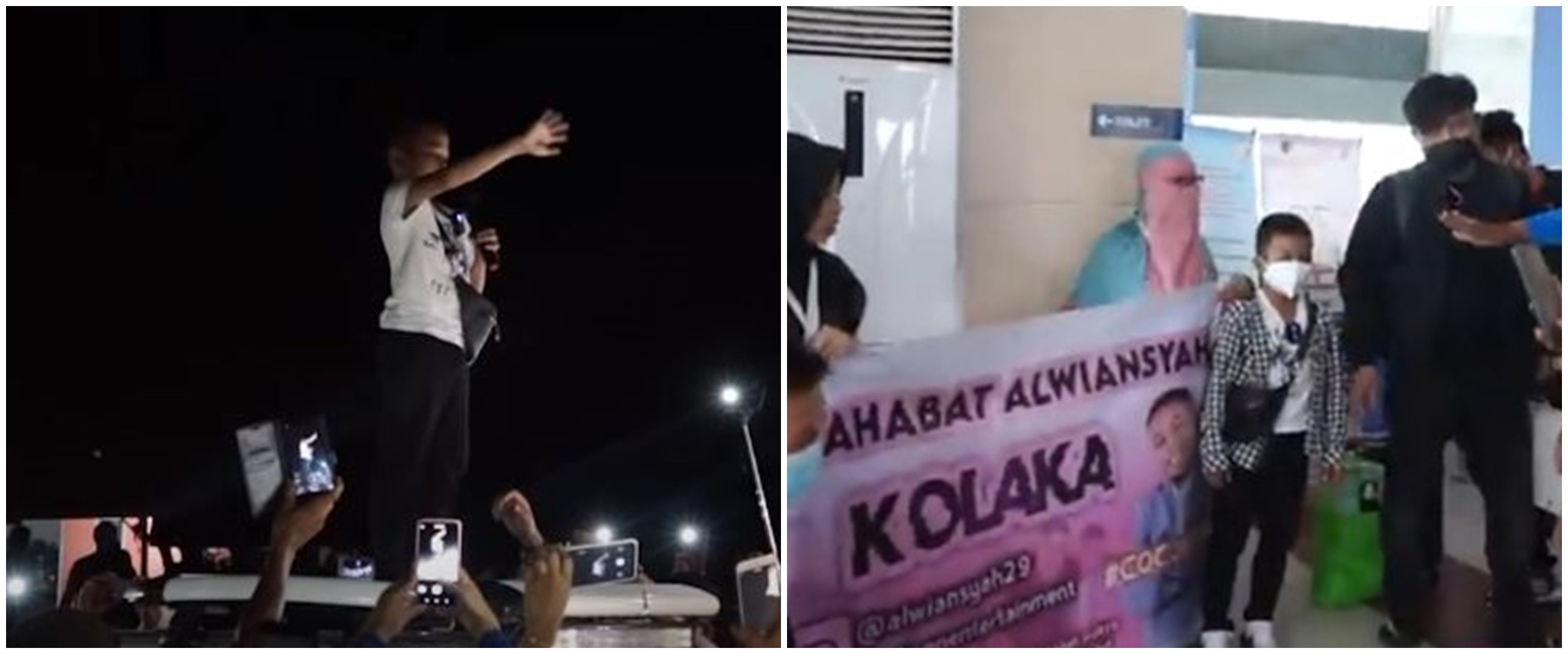 10 Momen Alwiansyah pulang kampung ke Kolaka, dikawal polisi