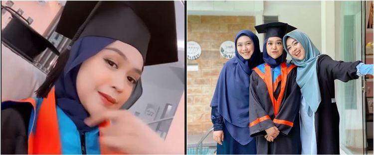 10 Potret wisuda online Ria Ricis usai 7 tahun kuliah