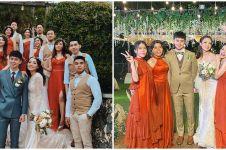 10 Momen resepsi pernikahan Steffy 'Cherrybelle', dance dengan suami