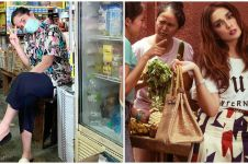 10 Potret Ussy Sulistiawaty belanja di pasar tradisional, stylish pol