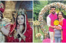 Momen mesra 7 pemain Chandra Nandini dan pasangan asli, bikin baper