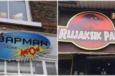 10 Nama tempat usaha ini terinspirasi dari judul film, unik dan kocak