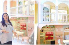 10 Potret kamar bermain anak Momo Geisha, fasilitasnya bikin betah