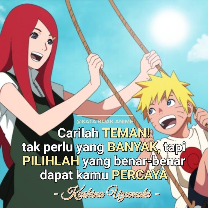 bijak Naruto cinta dan sahabat ©Instagram