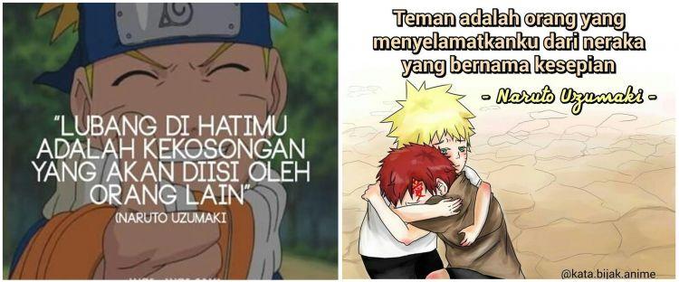40 Kata Kata Bijak Naruto Tentang Cinta Dan Persahabatan
