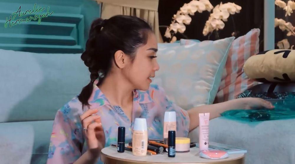 Nagita-Aurel makeup © YouTube