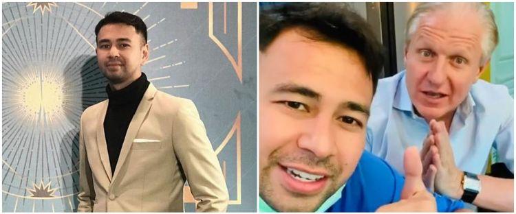 8 Momen kocak Raffi Ahmad ngomong pakai bahasa Inggris, jadi sorotan