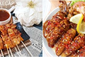 10 Resep cumi bakar ala rumahan, enak, empuk dan mudah dibuat