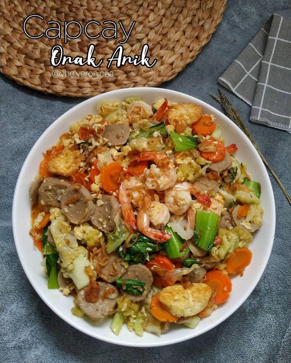 Resep makan malam sederhana ala rumahan © 2020 brilio.net/ Instagram