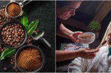 4 Cara membuat masker kopi untuk flek hitam, mudah tanpa efek samping