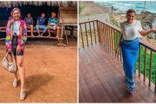 10 Momen liburan Ashanty di Sumba, sekaligus jemput sang ART