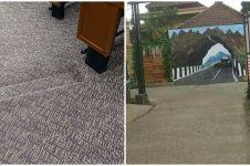 10 Potret ilusi optik akses jalan ini bikin yang mau lewat bingung
