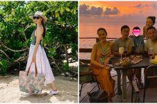 10 Momen liburan Cathy Sharon & Julie Estelle bareng pasangan di Bali