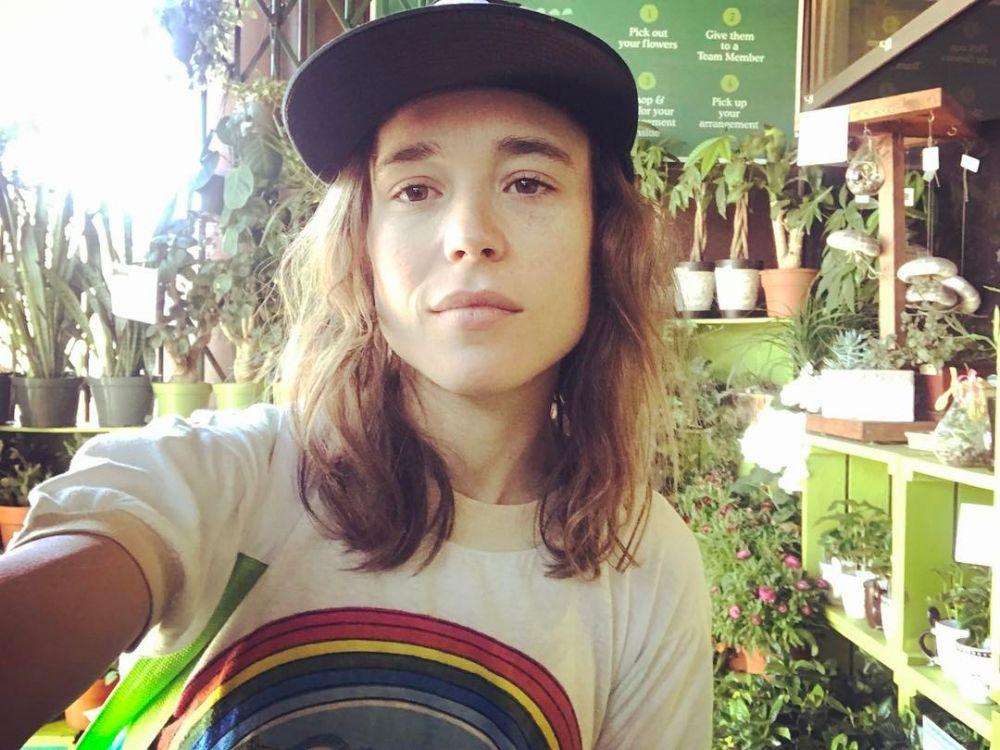 Ellen Page transgender © Instagram
