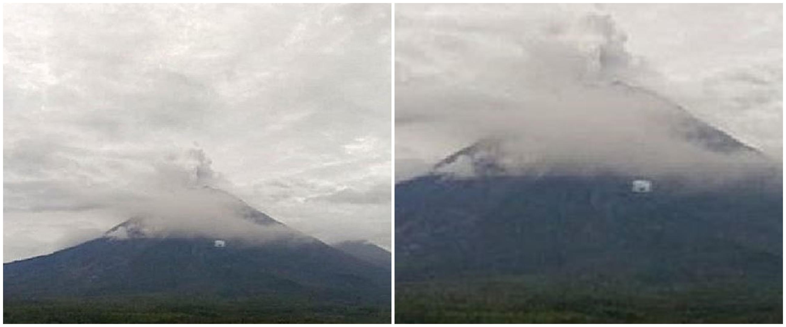Gunung Semeru terus luncurkan awan panas