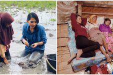 10 Potret totalitas Soraya Rasyid syuting Uang Kaget dan Bedah Rumah