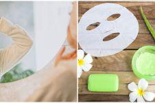 Cara membuat masker dari ampas teh & lidah buaya, bikin kulit kencang