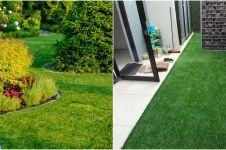 10 Jenis rumput yang cocok untuk menghias taman, bikin rumah jadi asri