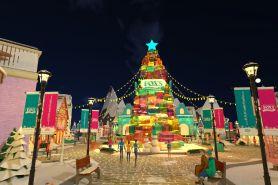 4 Fakta studio permen virtual yang didesain ala musim dingin