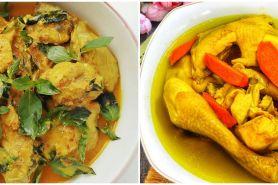 10 Resep ayam bumbu kuning, praktis untuk sajian keluarga