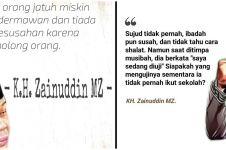 40 Kata-kata bijak Zainuddin MZ, penuh petuah dan inspiratif