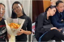 Pamer surat pengantar ke KUA, Kalina dan Vicky Prasetyo siap menikah