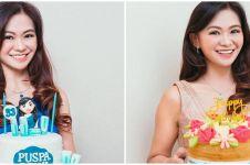 10 Potret terbaru Puspa Dewi, nenek cantik berusia 53 tahun