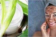 Cara membuat masker dari kopi dan lidah buaya, aman dan mudah dibuat