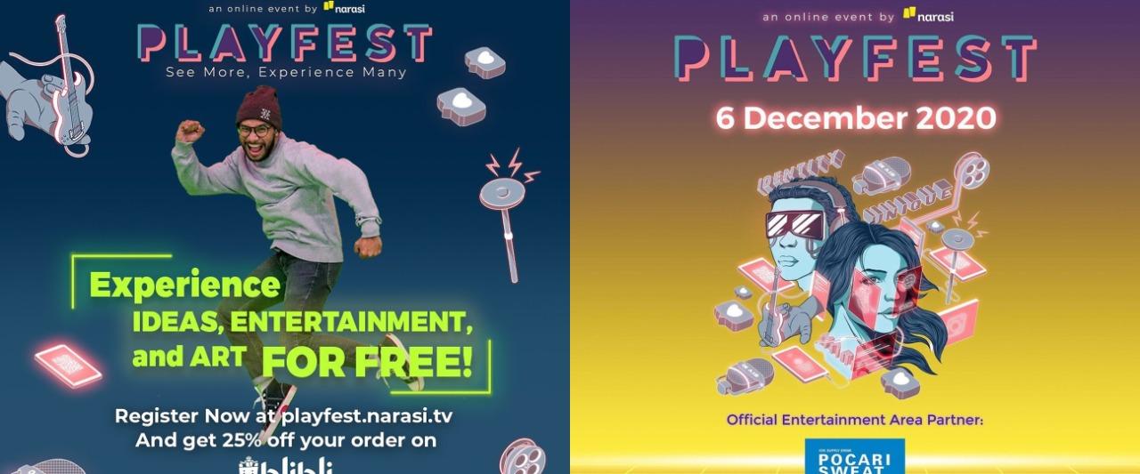 5 Keseruan yang akan hadir di Playfest 2020