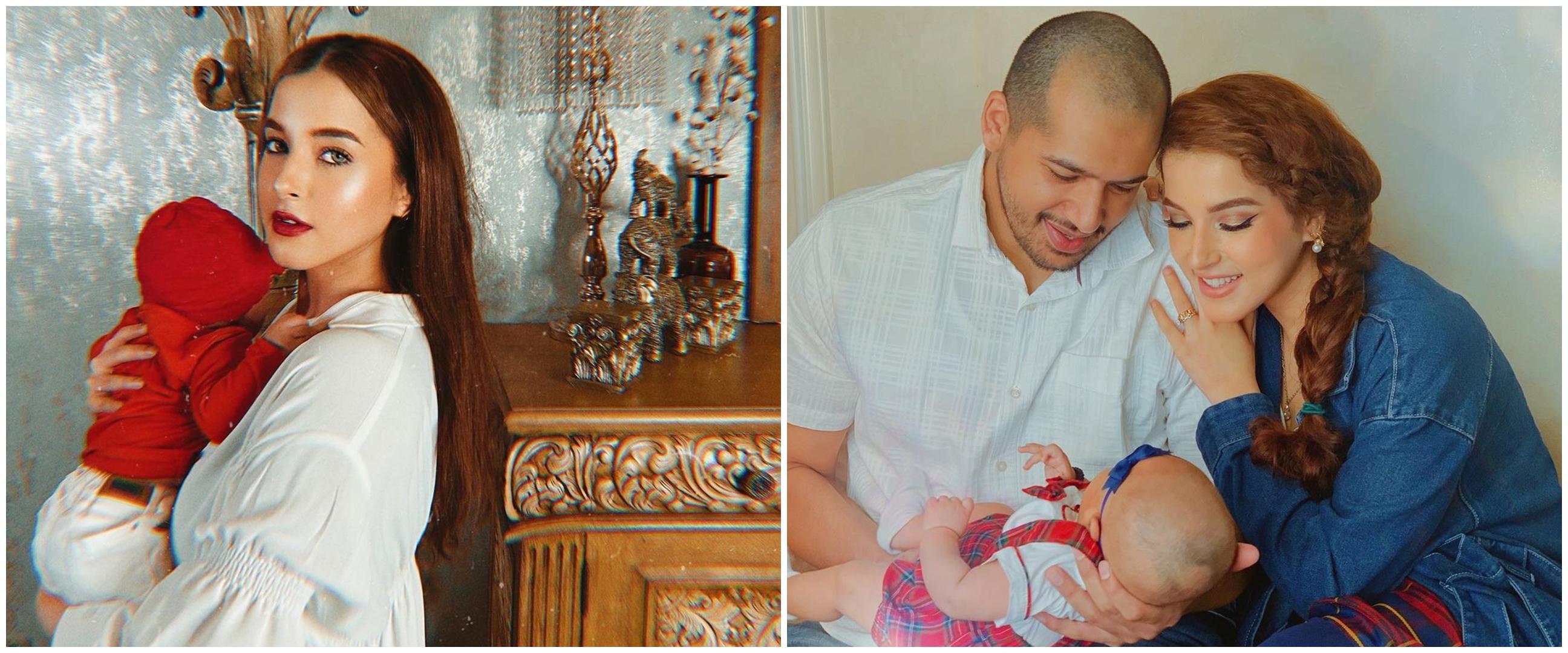 8 Gaya pemotretan Tasya Farasya usai melahirkan, bertema vintage