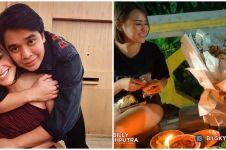 10 Momen Billy Syahputra ajak Amanda Manopo makan di pinggir jalan
