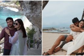 10 Potret mesra Hana Saraswati dan pacar baru, lengket bak prangko