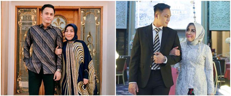 Potret lawas pertunangan Muzdalifah dan Fadel Islami, romantis abis