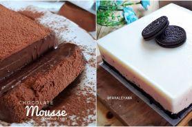 10 Resep mousse cake yang super lembut dan lumer di mulut