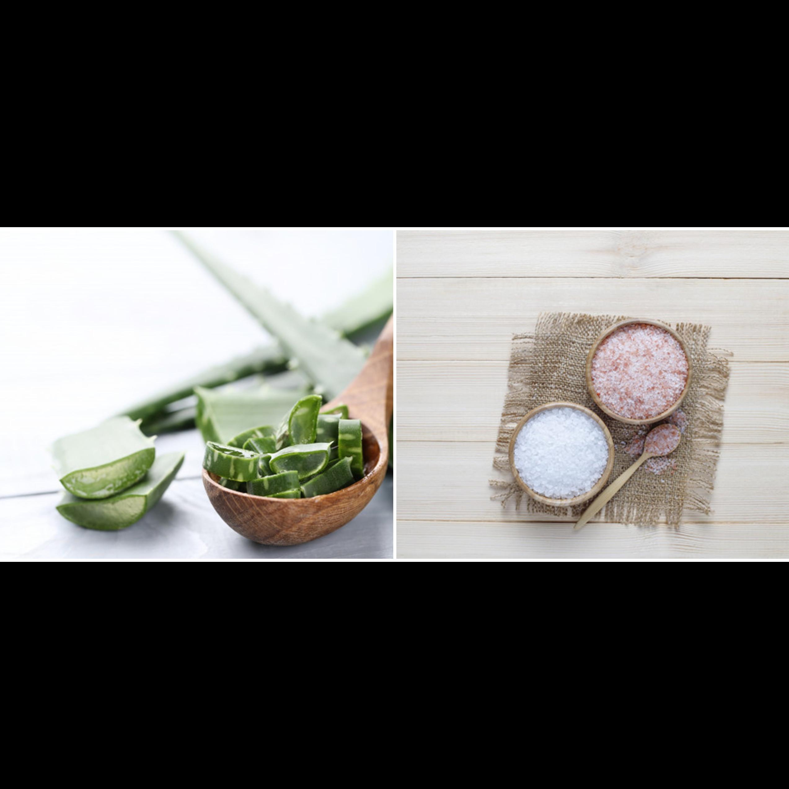 Cara membuat masker lidah buaya dan garam di rumah, mudah dan aman