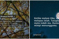 40 Kata-kata selamat malam dunia, cocok jadi status medsos