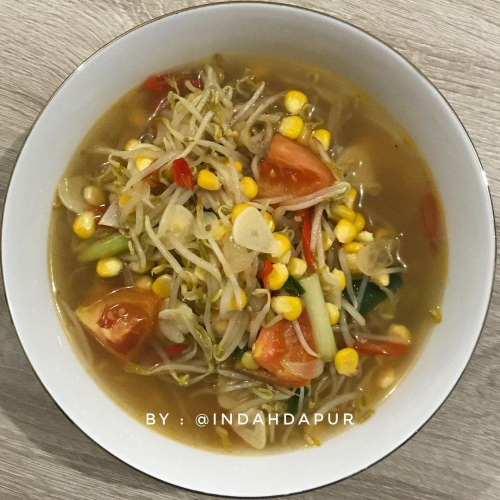resep sayur bening © Instagram