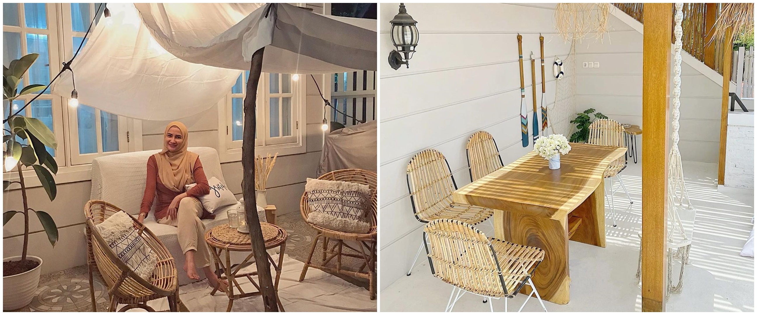 10 Potret area outdoor rumah Natalie Sarah, setiap sudut Instagramable