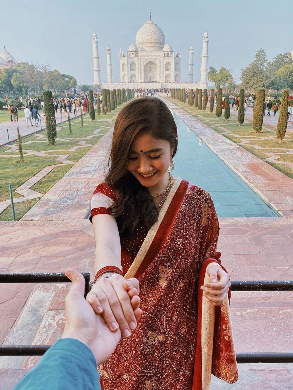 pesinetron baju India © Instagram