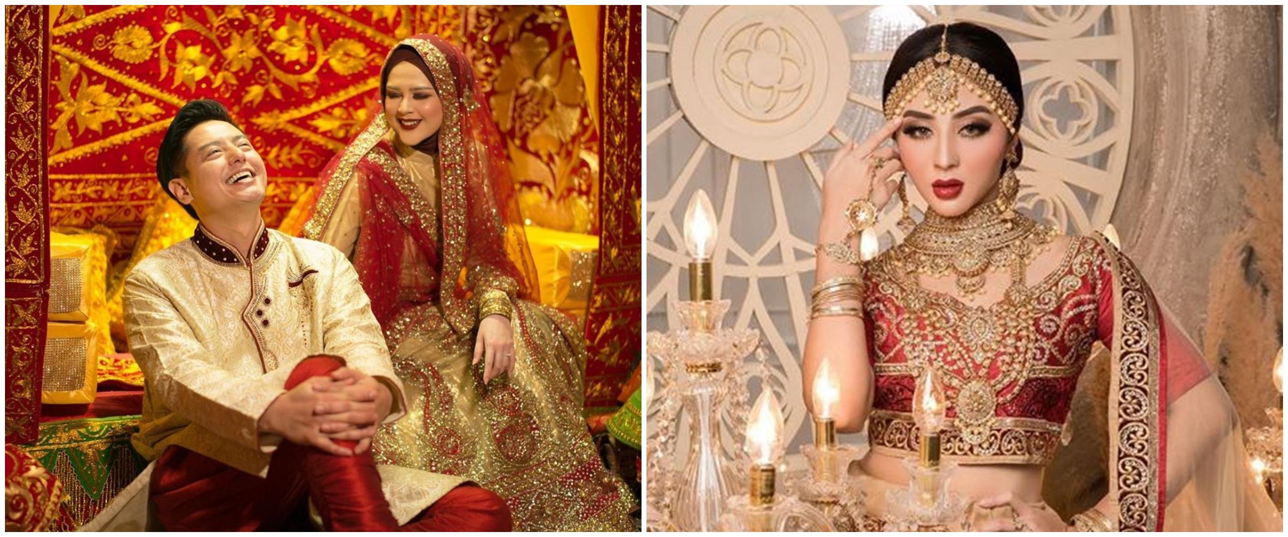 Adu gaya 10 pesinetron cantik pakai busana India, stunning abis
