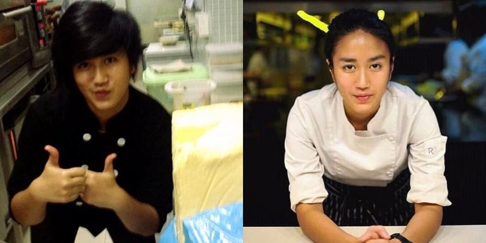 celebrity chef dulu & kini © Instagram