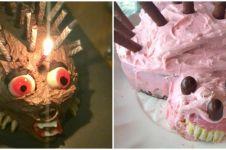 10 Potret gagal kue bentuk landak, hasilnya bikin ngakak