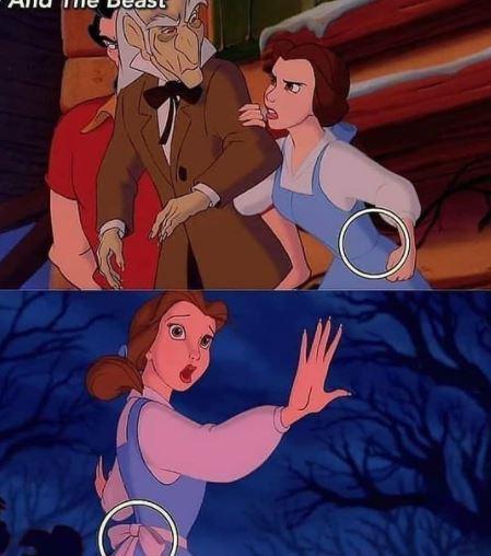 Kesalahan film kartun Disney Instagram