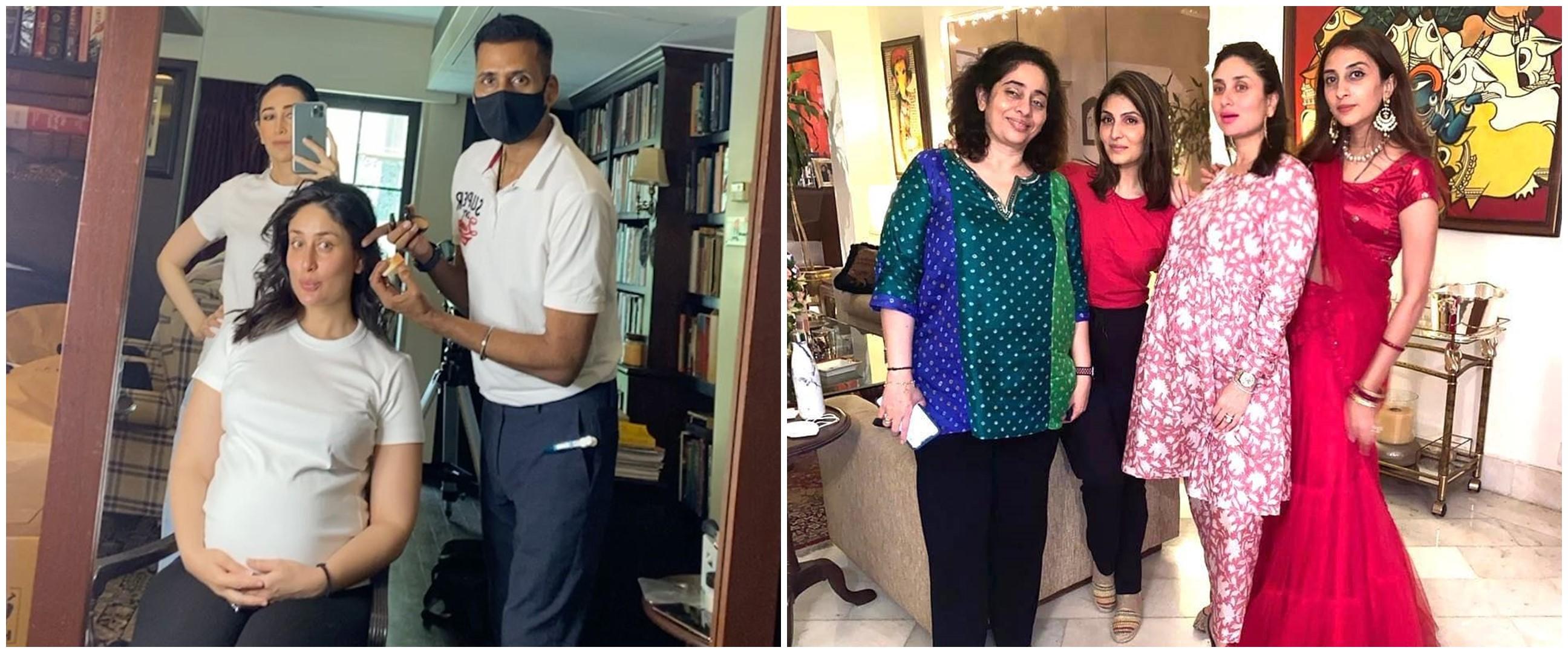Hamil di usia 40 tahun, ini 10 pesona Kareena Kapoor pamer baby bump