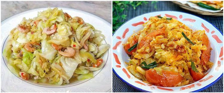 10 Resep sayur kubis ala rumahan, enak, sehat, dan praktis