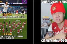10 Meme performa buruk Arsenal saat awal musim ini bikin ketawa jahat