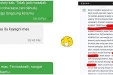 10 Chat petunjuk lokasi customer ojek online ini bikin senyum kesal