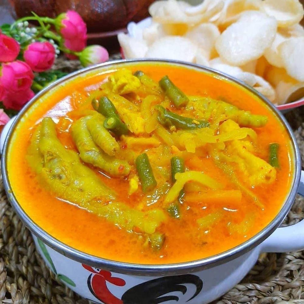 resep sayur kuah merah ©Instagram
