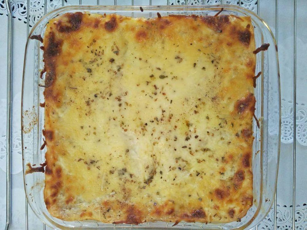 kreasi makanan dengan saus bolognaise © 2020 brilio.net/ Instagram/cookpad