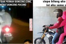10 Meme jomblo naik motor ini bikin ketawa jahat